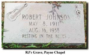 Robert Johnson's grave?