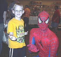Jacob Jones and Spider-Man