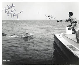 autographed Jaws glossy