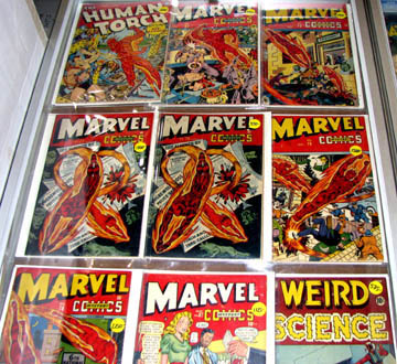 Marvel comics from the '40s