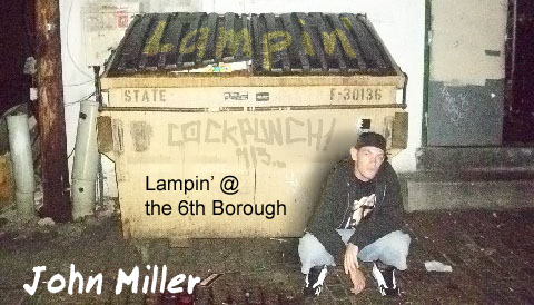 Lampin at the 6th Borough by John Miller